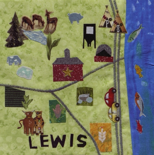 Lewis County - Created by Emma Harrison and Carla Gower.