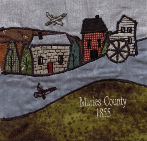 Maries County - Created by Lisa Jones with assistance by Vivian Honse, Glenda Baxter, and Scott Bennett.