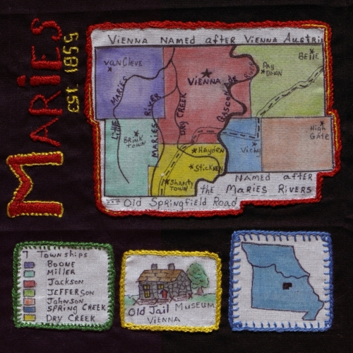 Maries County - Created by Kay Waldron. **Selected for the Missouri Bicentennial Quilt**
