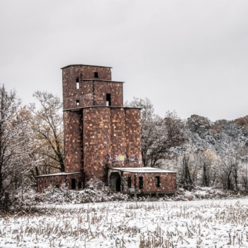 Abandoned Mill. Photograph by Bruce Miller. **Selected for the My Missouri 2021 exhibition**