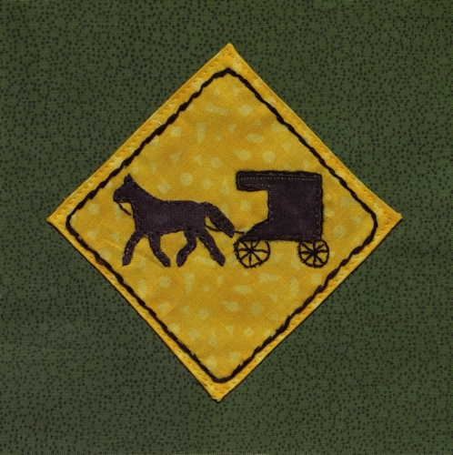 Horse and Buggy Crossing - Created by Cindy Kay Wilbur-Kleopfer.
