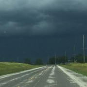 Storm Clouds. Photograph by Sharon Murphy.