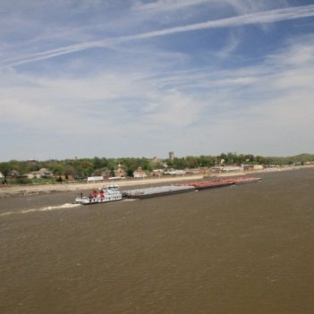 Along the Cape Girardeau Riverfront. Photograph by Tom Neumeyer. **Selected for the My Missouri 2021 exhibition**