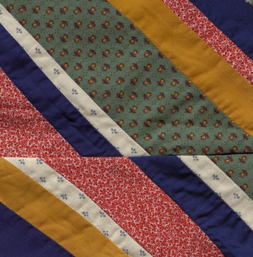 New Madrid Fault Line - Quilted by Jill Bock. **Selected for the Missouri Bicentennial Quilt**