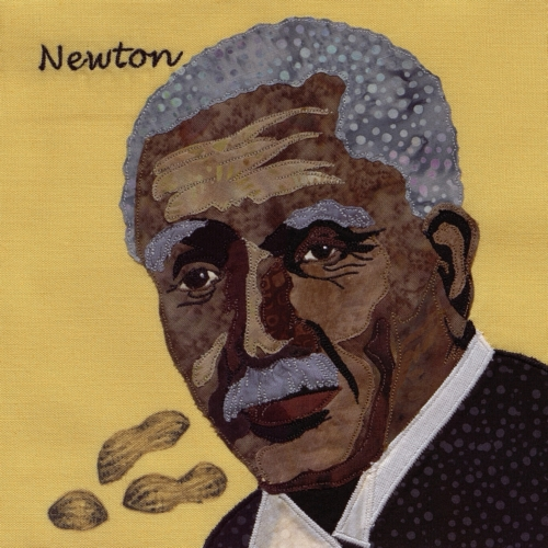 George Washington Carver - Created by Robyn Renee Gragg. **Selected for the Missouri Bicentennial Quilt**