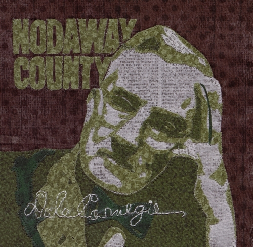 Dale Carnegie - Created by Lana Cease. **Selected for the Missouri Bicentennial Quilt**