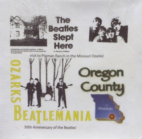 The Beatles Slept Here - Created by Ruth Lee Crider.