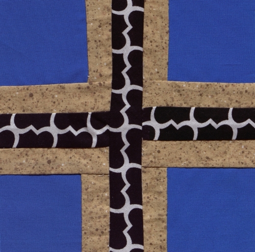 Osage Settles - Created by Linda Roberts. **Selected for the Missouri Bicentennial Quilt**