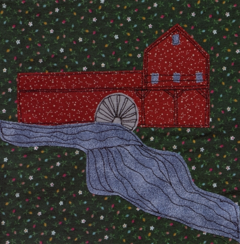 Ozark Mill - Created by Judy Steward. **Selected for the Missouri Bicentennial Quilt**