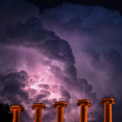 Thermal Lightning. Photograph by Liv Paggiarino. **Selected for the My Missouri 2021 exhibition**