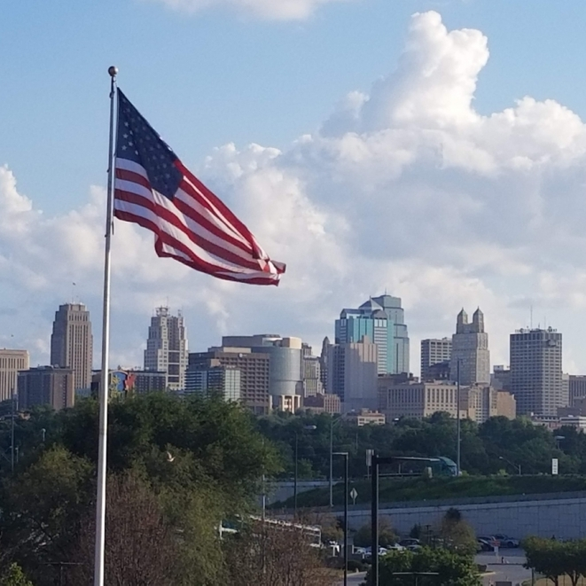 The Heart Of America. Photograph by George Pettigrew.