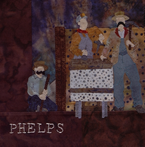 Lead Miners - Created by Robyn Gragg. **Selected for the Missouri Bicentennial Quilt**