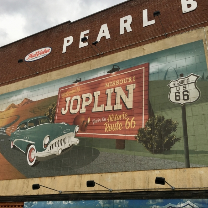 Celebrating Route 66. Photograph by Joyce Phillips.