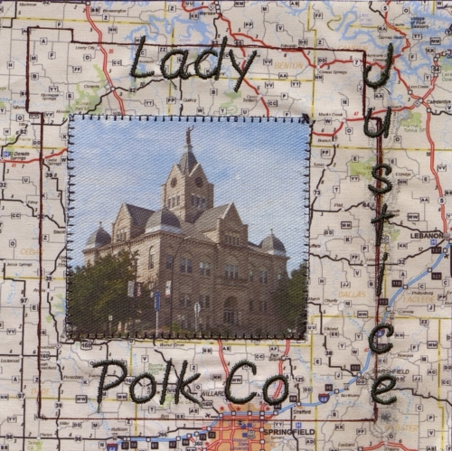 Lady Justice - Created by Joy Tooman, Durella Combs, and Lynnette McCulloh. **Selected for the Missouri Bicentennial Quilt**