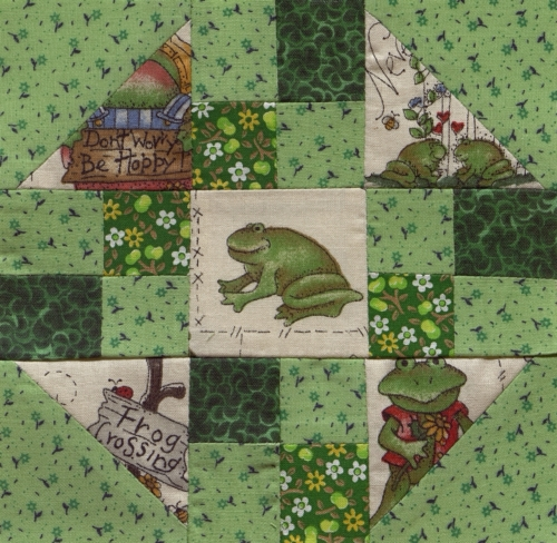 The Frog Rock - Quilted by Debbie Kae Townsend. **Selected for the Missouri Bicentennial Quilt**