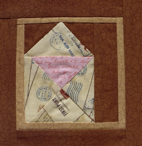 You Got Mail - Quilted by Sandra Kay Austin.