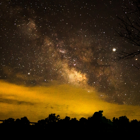 Milky Way. Photograph by Kevin Roberson. **Selected for the My Missouri 2021 exhibition**