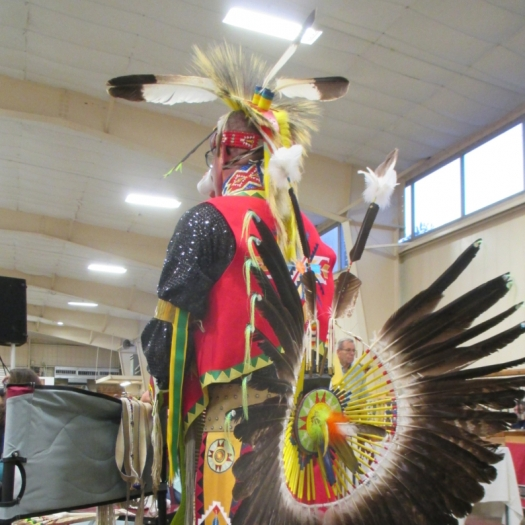 Dressed For Pow Wow