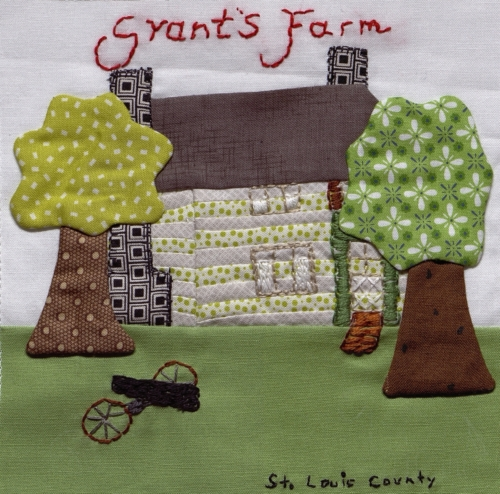 Grant's Farm - Created by Susan Busch. **Selected for the Missouri Bicentennial Quilt**