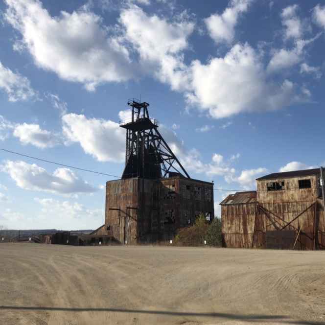 Missouri Mines at State Historic Site. Photograph by Hannah Salrin.