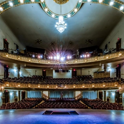 Lander's Theater Stage View. Photograph by Allin Sorenson. **Selected for the My Missouri 2021 exhibition**