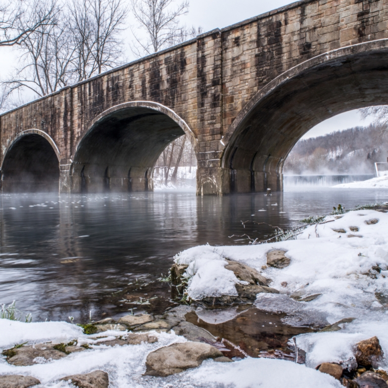 Winter Mist on Bennett. Photograph by Steven Strauch. **Selected for the My Missouri 2021 exhibition**