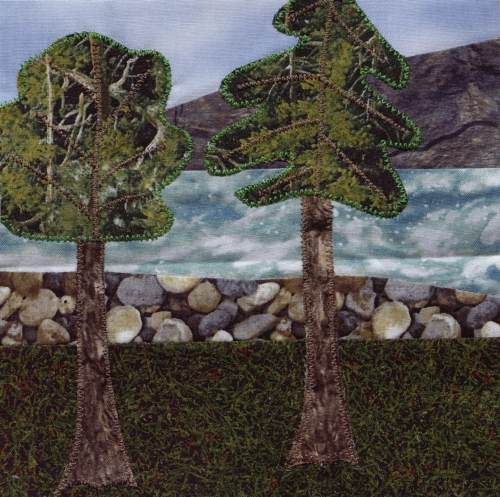 On the Banks of the Big Piney River - Created by Teresa Kay Baker. **Selected for the Missouri Bicentennial Quilt**