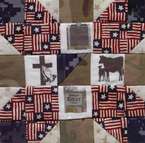 Life in Texas County - Quilted by Bobbi S. Sparks.