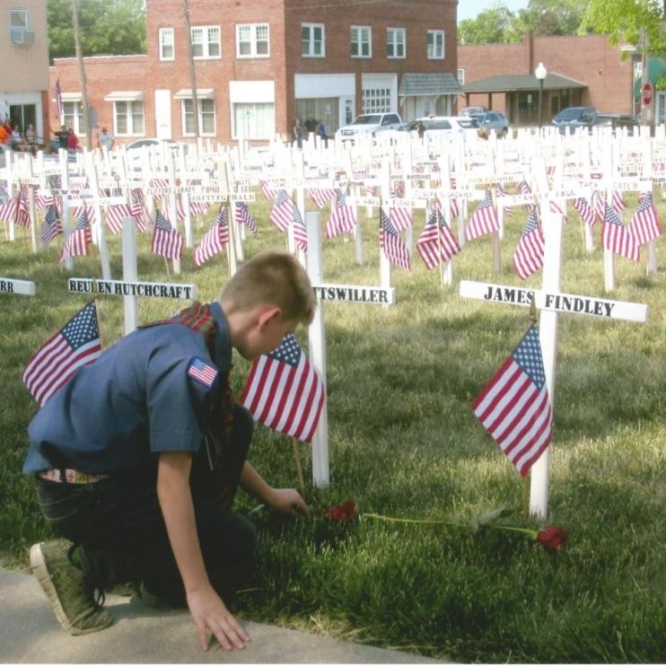 Remembrance. Photograph by Tommy Thornton. **Selected for the My Missouri 2021 exhibition**