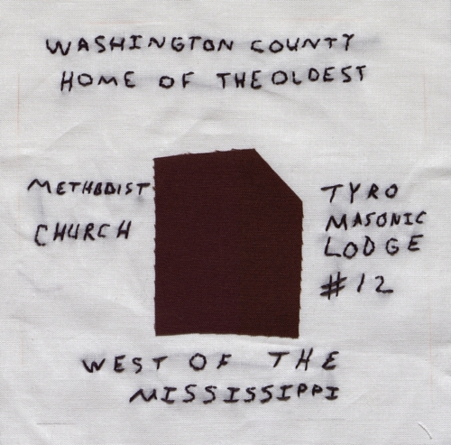 Historic Washington County - Created by Sandra Sutton. **Selected for the Missouri Bicentennial Quilt**