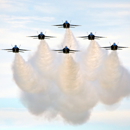 Blue Angels. Photograph by Keith Wilhite. **Selected for the My Missouri 2021 exhibition**