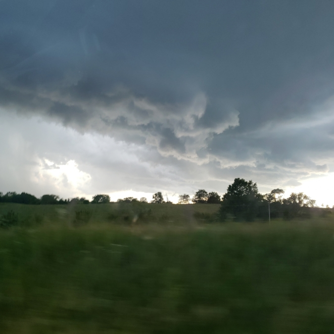 Stormy Evening. Photograph by Kara Wilson. **Selected for the My Missouri 2021 exhibition**