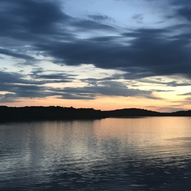 Lake Wappapello Sunset. Photograph by Bonnie Wood. **Selected for the My Missouri 2021 exhibition**