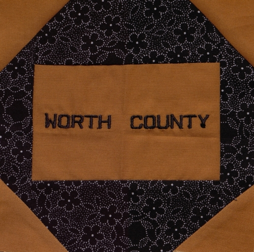 Worth County - Quilted by Mary Kay Lambert.