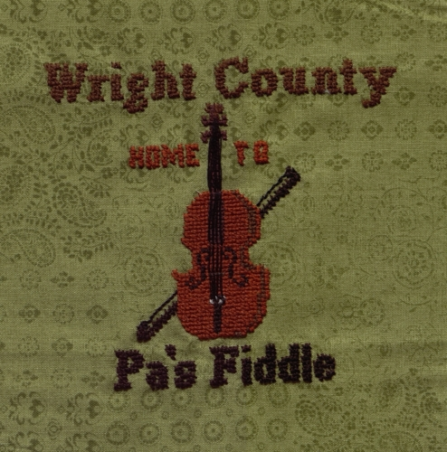 Pa's Fiddle - Created by Vicki Johnston, design by Barbara Bangser. **Selected for the Missouri Bicentennial Quilt**